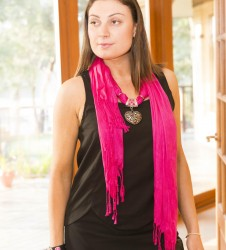 Silky Scarves & Jewellery
